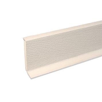 Fußbodenleiste Weiß hartschaum sockelleiste fußbodenleiste aus kunststoff in weiß 2500 x