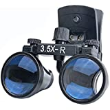 Dental 3.5X-R Surgical Glasses Loupe Magnifier Clip on Style DY-110 280mm-380mm