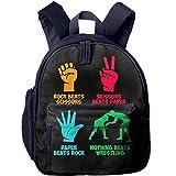 Mortimer Gilbert Rock Paper Nothing Beats Wrestling Kids School Bags Backpack Childrens' Bookbag