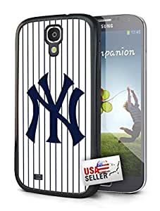 New York Yankees NY Pinstripes Single Cell Phone Hard Protection Case for Samsung Galaxy S5 by mcsharks