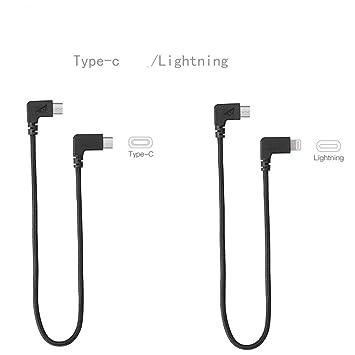 Dji Mavic 2 Type-C to USB Cable for DJI Mavic Pro/Mavic Pro Air/Spark  (Black)