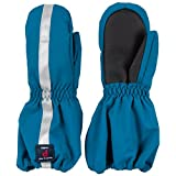 POLARN O. PYRET INSULATED CUFF MITTEN (2-6YRS) - Moroccan Blue/4-6 years