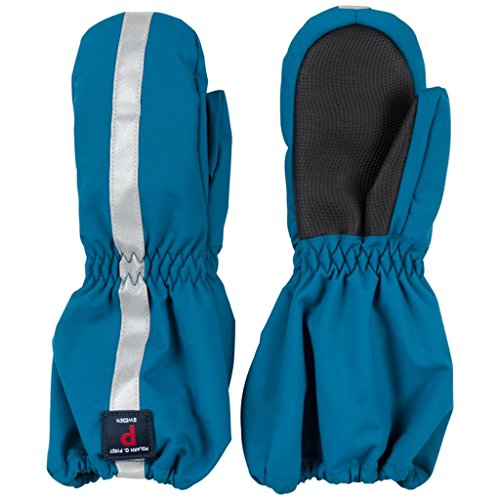 POLARN O. PYRET INSULATED CUFF MITTEN (2-6YRS) - Moroccan Blue/2-4 years