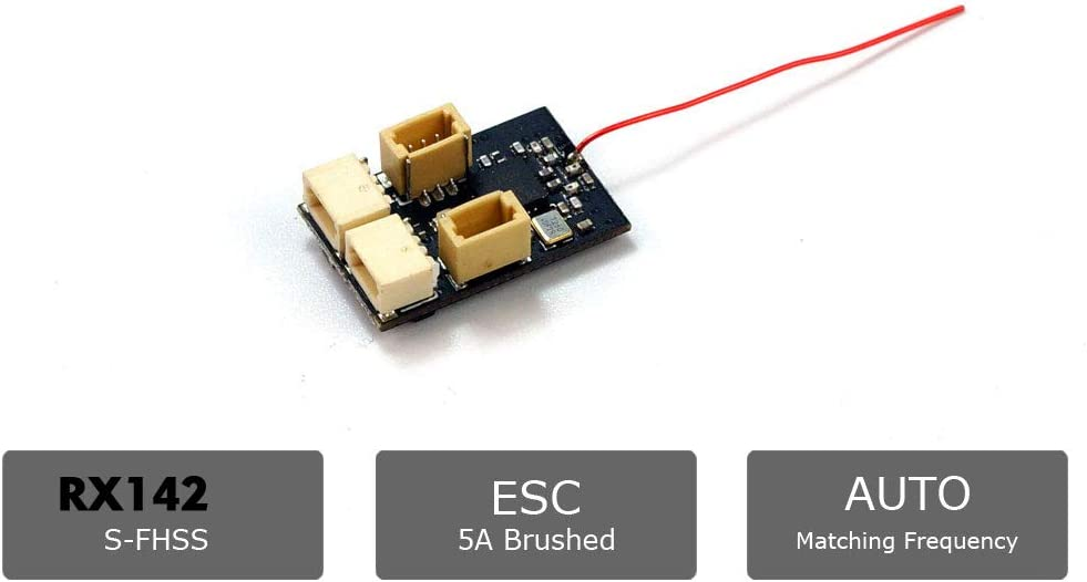SPEKTRUM Transmitter 4100E 2.4Ghz 4-Channel 4ch Micro Receiver Assmbly for JR