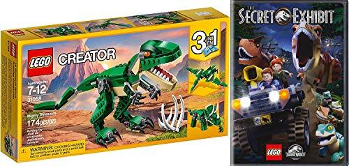 Exhibit Lego Dino Adventures Jurassic World Secret DVD Animated Movie Bonus Short Films Dinosaurs! & Mighty Lego Creator 3 in 1 Build pack (Lego Wreck It Ralph)