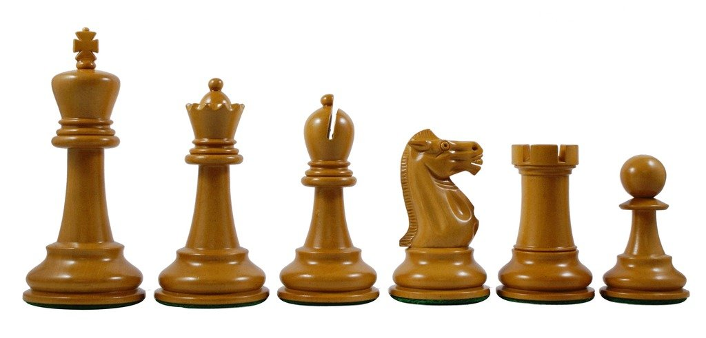 Jaques Reproduction 1870-75 Edition Staunton 4.4'' Premium Chess Set by Staunton Empire (Image #2)