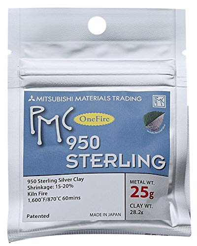 - PMC One Fire Sterling Clay - 25 Grams
