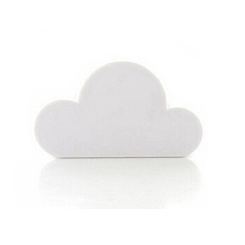 Porta-Llaves Magnético para Colocar en casa en Forma de Nube Color Blanco