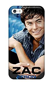 Iphone 5/5s Case Cover - Slim Fit Tpu Protector Shock Absorbent Case (zac Efron)