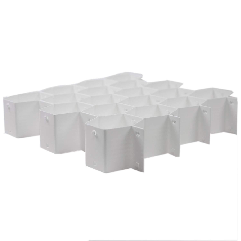 Huji 8 Piece Clapboard Drawer Divider Closet Cabinet Partitions Organizers(8 Piece, Clapboard Drawer Partitions/Organizers) … (1 Pack, Clapboard Drawer Partitions/Organizers) HJ2571