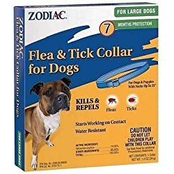 Zodiac Flea & Tick Collar for Large Dogs 7 months