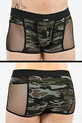 Look At Me Camouflage Boxer Short Military 58-67 M