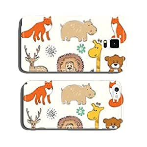 set of wild animals. Hand drawn illustration cell phone cover case iPhone6 Plus