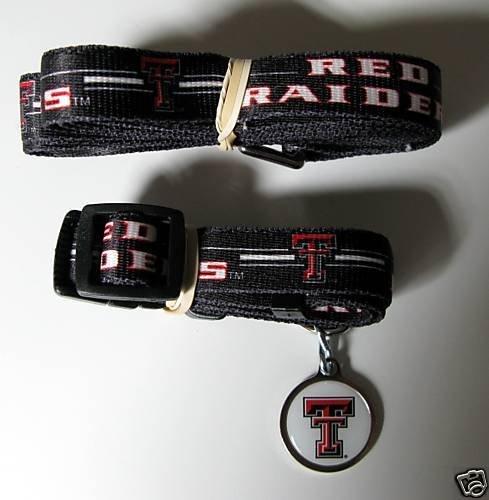 Hunter Texas Tech University Pet Combo Set (Collar, Lead, ID Tag), X-Small