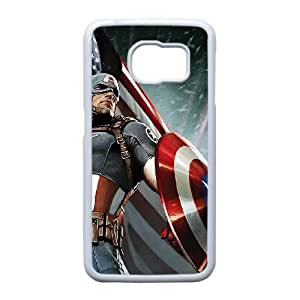 Captain America for Samsung Galaxy S6 Edge Cell Phone Case & Custom Phone Case Cover R12A880455