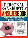img - for The Personal Bankruptcy Answer Book: Practical Answers to More than 175 Questions on Bankruptcy book / textbook / text book
