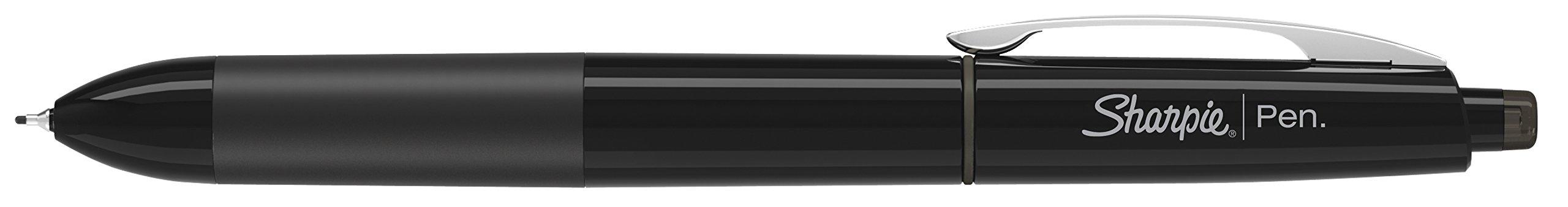 Sharpie 1753176 Retractable Pen, Fine Point, Black, 3-Count by Sharpie (Image #3)