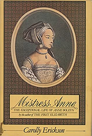 book cover of Mistress Anne
