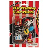 Pirate Birthday Cake Candles (6 Piece)