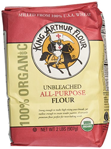 All Purpose Flower - King Arthur Organic Artisan All Purpose Flour, 2 Lb
