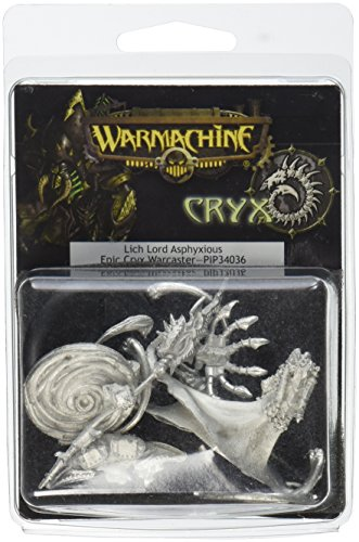 Privateer Press - Warmachine - Cryx: Lich Lord Asphyxious Model Kit