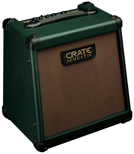 Crate CA10 Acoustic Guitar Amplifier Combo, 10 Watts, 1/4 Input, 3 Band EQ, Chorus (Acoustic Amps Guitar Crate)