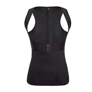 DEBRICKS Womens Modeling Strap Sauna Vest Body Shaper ...