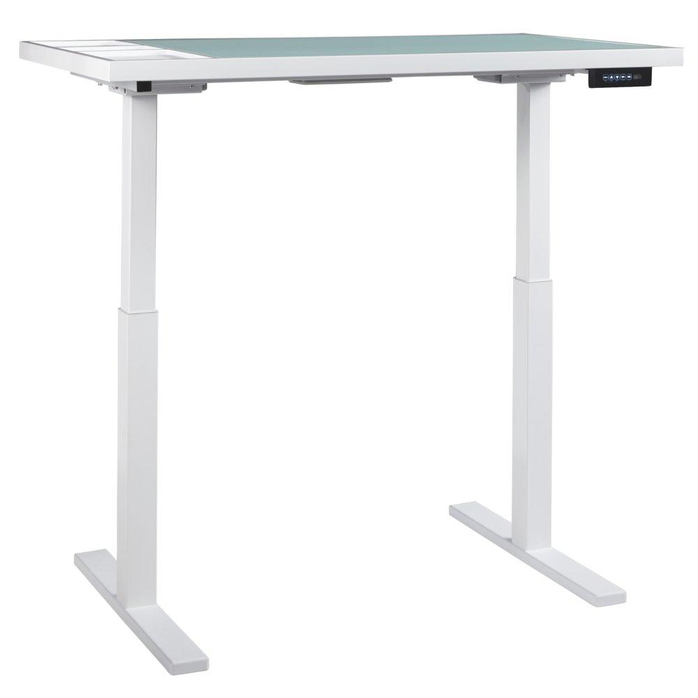 Amazon.com: Baraga – blanco – altura ajustable computadora ...