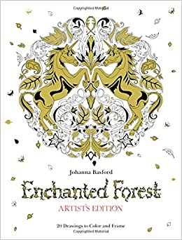 Amazon Enchanted Forest Artists Edition 20 Drawings