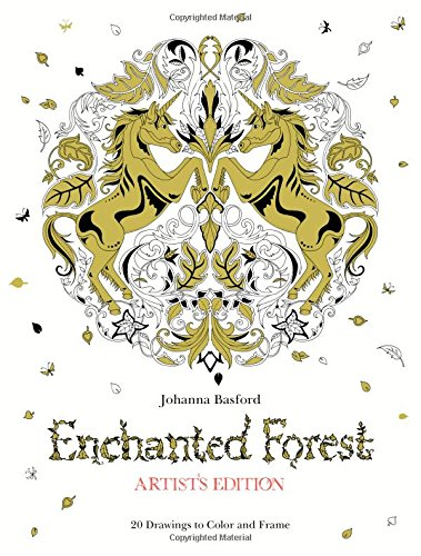 Enchanted Forest Artists Drawings Color product image