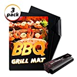 M-Better Grill Mat-Set of 3, 100% Non-stick BBQ Grill &...