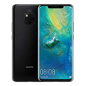 Huawei Mate 20 Pro (128GB, 6GB RAM) 6.39″ Display, Leica Triple Camera, in-Screen Fingerprint, Global 4G LTE Dual SIM GSM Factory Unlocked LYA-L29 – International Model (Black)