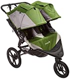 Baby Jogger 2016 Summit X3 Double Jogging Stroller - Green Gray