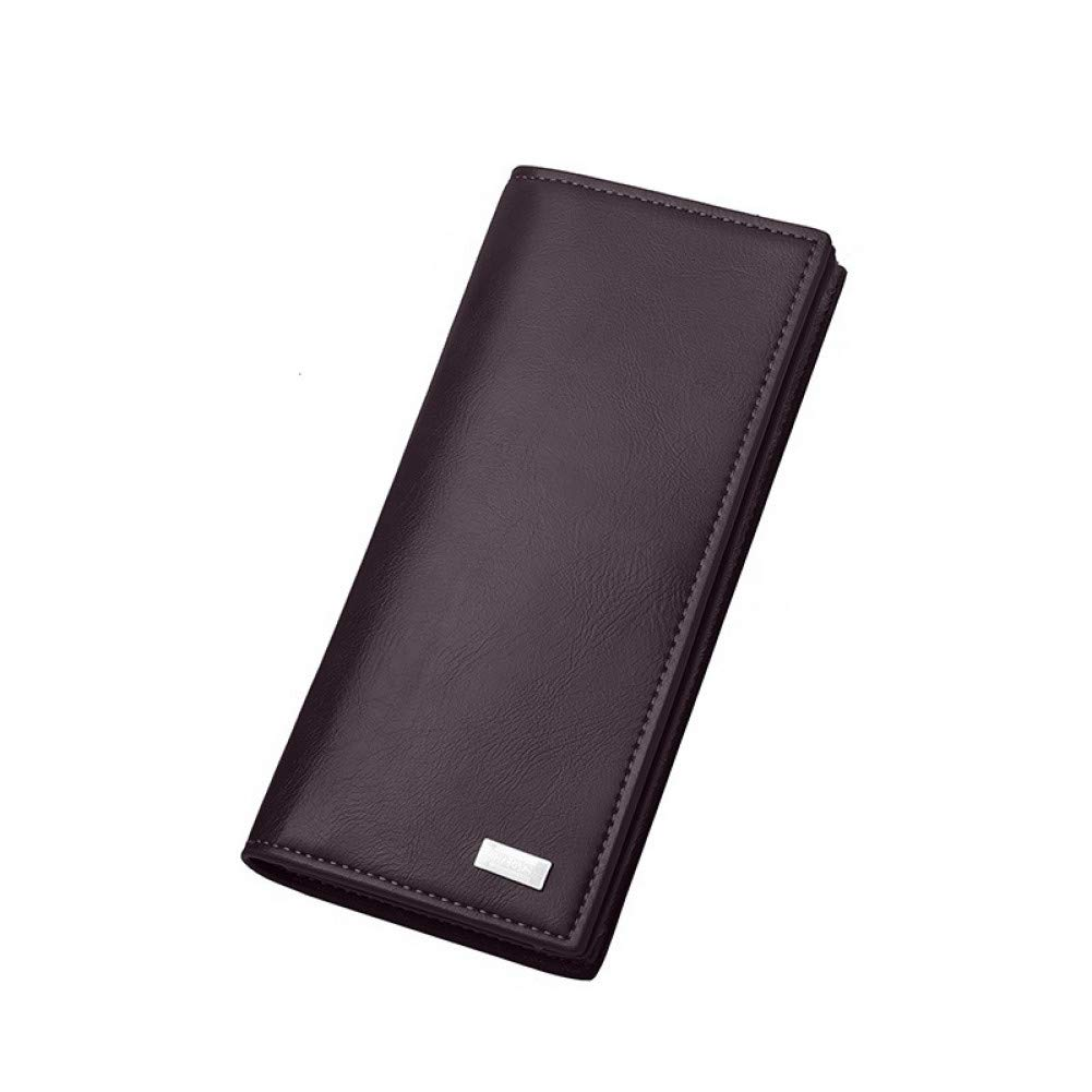 KHGUDS Men Long Section Fashion Wallets Coin Bag Famous Brand High Capacity Id Card Holder Purse Clutch With Zipper Mobile Phone Bag