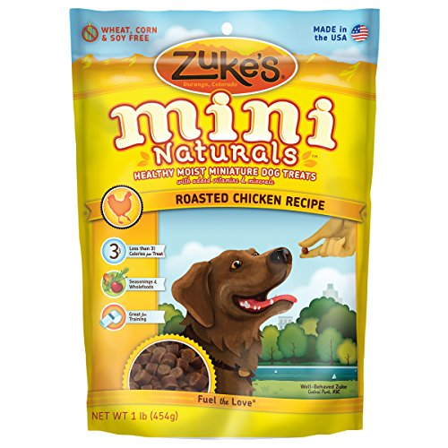 Zuke's Mini Naturals Dog Treats, Chicken, 1-Pound