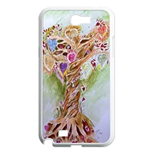 Yo-Lin case FXYL262957Love tree,love spirit protective case For Samsung Galaxy Note 2 Case