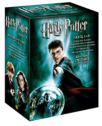 Amazon Com Harry Potter 1 5 Special Edition 10 Dvds Movies Tv
