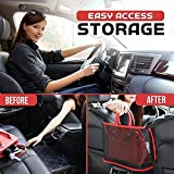 Car Net Pocket Handbag Holder Seat Back Organizer