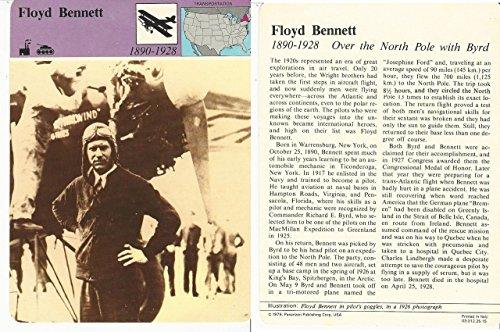 1979 Panarizon, Story Of America, #25.15 Floyd Bennett, - Aviator Story