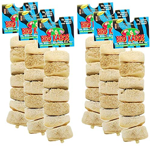 Wesco Pet Original Bird Kabob Shreddable Bird Toy (6 Pack)