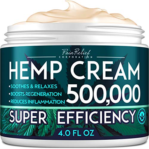 Hemp Pain Relief Cream