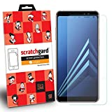 Samsung Galaxy A8 Plus(2018) Scratchgard Original Anti- Matte Anti-Glare/Anti-Fingerprint Film Screen Protector with LIMITED LIFETIME WARRANTY