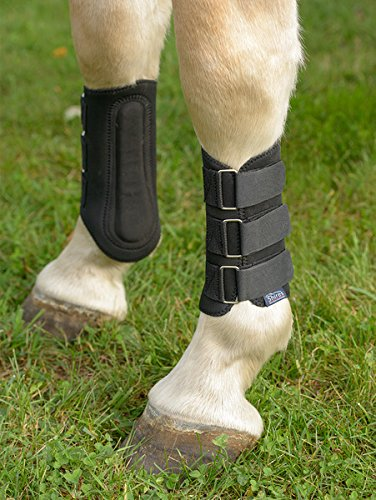 Shires Splint Boots Black Pony