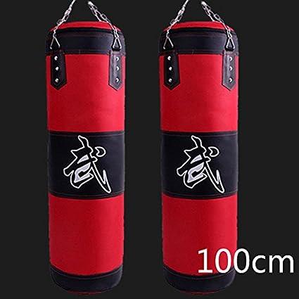 100cm Training Boxing Hook Kick Sandbag Fight Karate Punch Punching Sand Bag