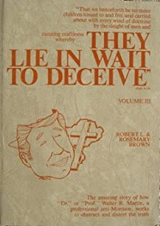 Image result for they lie in wait to deceive