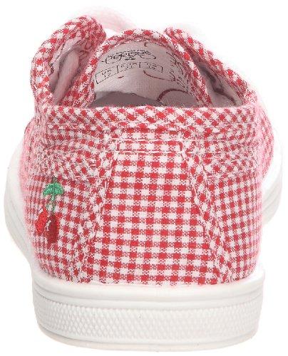Little Cerise - Zapatillas de tela para niña Rojo