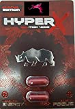 GENUINE SUPER CHARGED RHINO HYPER-X-RED-ZONE 4k - 48pill LIMITED EDITION FOR A NIGHT YOU'LL NEVER FORGET AND WILL LEAVE YOUR PARTNER BEGGING FOR MORE PLUS LOVE POTION EXCLUSIVE PEN(TM) (2x24)