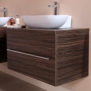 750 Vanity Unit for Bathroom Ensuite Cloakroom - Wall ...
