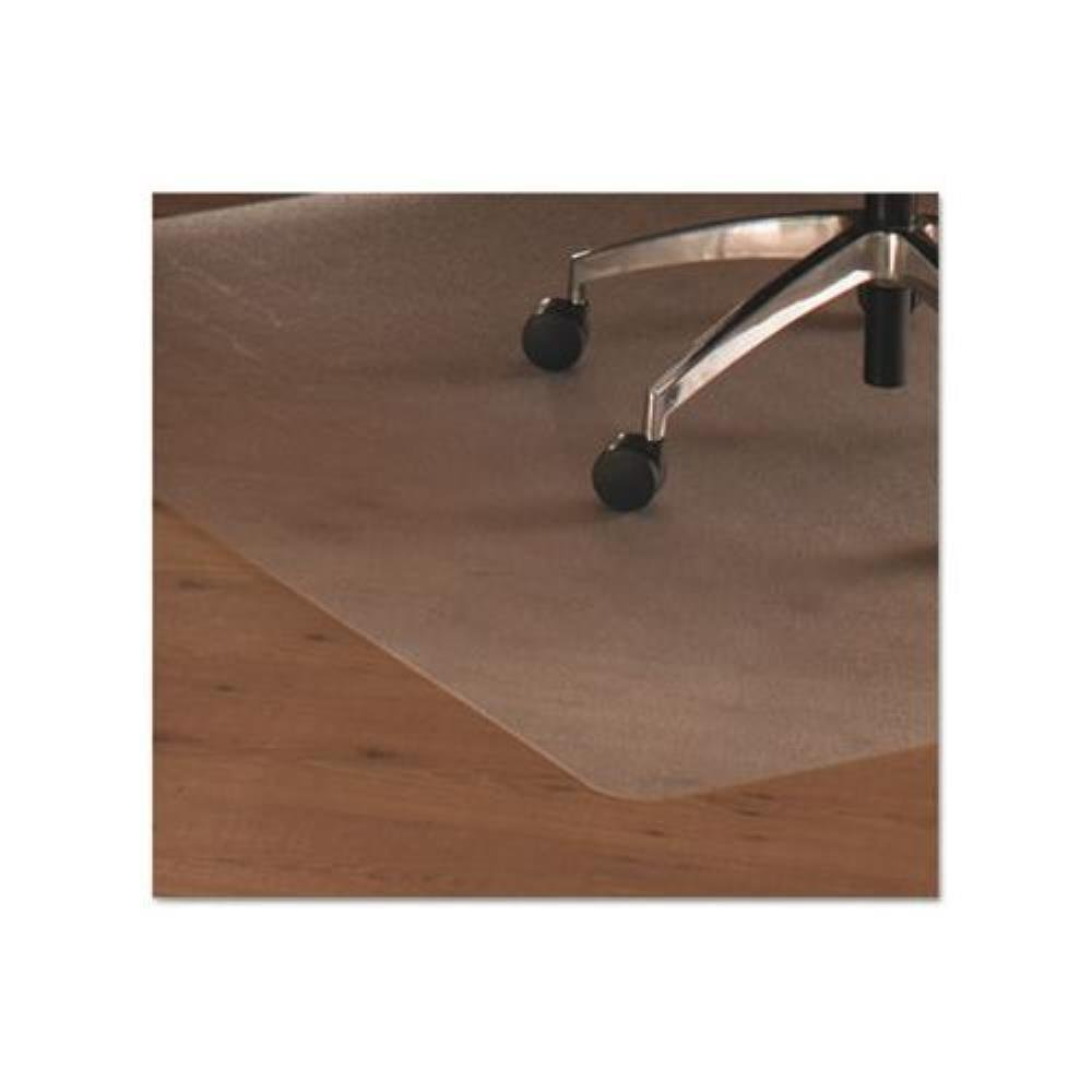 Cleartex Hardwood Contoured Chair Mat FLR129919SR