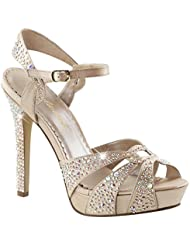 Fabulicious 4 3/4 Heel, 1 PF Ankle Strap W/RS Womens Sandals